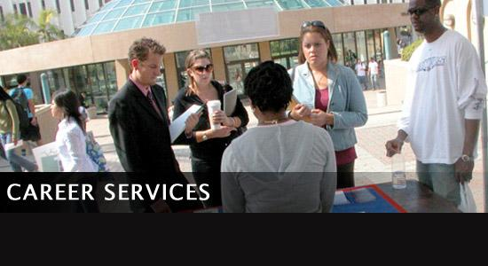 Undeclared students at a Career Services event photo